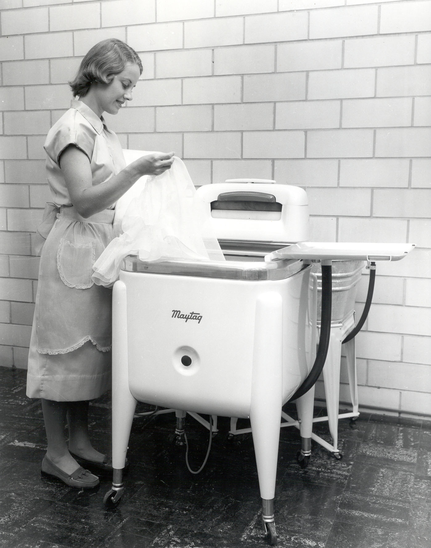 Maytag Commercial Laundry equipment history